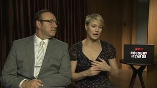 House Of Cards: Kevin Spacey, Robin Wright Talk Season Three, Pussy Riot And Politics