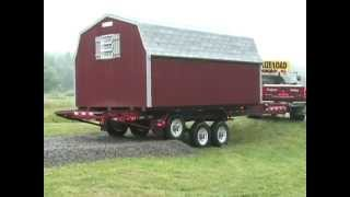 Deliver a shed the easy way