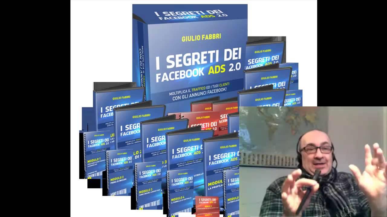 I segreti di facebook ads youtube for Segreti facebook