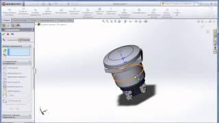 3D модель мехмода. Часть 1 - кнопка.
