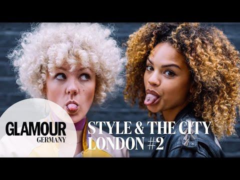 GLAMOUR Style & the City I London mit Bloggerin Marlen Stahlhuth & Model Portia Ferrari I Folge #5