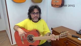 Superlative secrets on picado /Develop speed & power in flamenco guitar/Be Number 1/Ruben Diaz