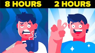 How to Only Sleep 2 Hours Per Day