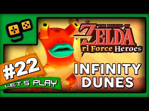 Let's Play: Zelda TriForce Heroes - Parte 22 - Infinity Dunes