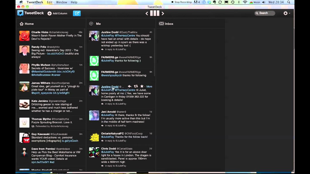 Resize window in Tweetdeck