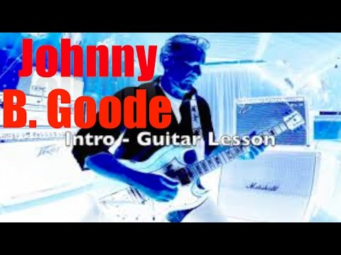 Chuck Berry Johnny B. Goode - Intro Guitar lesson - Walter Apa