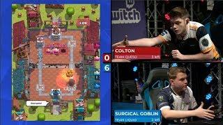 [GAME 1] TEAM LIQUID VS TEAM QUESO | Clash Royale ...
