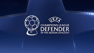 Bonucci, Marcelo, Ramos: UEFA Champions League Defender of the Season 2016/17
