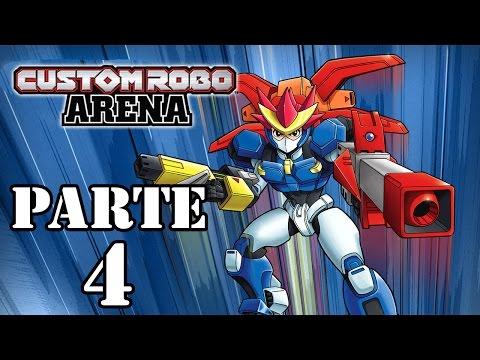 Let's Play: Custom Robo Arena - Parte 4