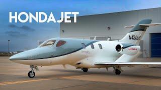139. HondaJet - самый необычный бизнес джет (rus/eng sub)
