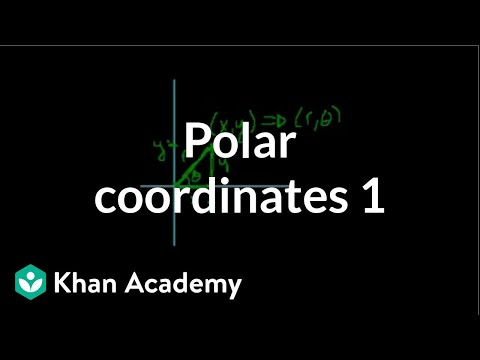 Polar coordinates 1 | Parametric equations and polar coordinates | Precalculus | Khan Academy
