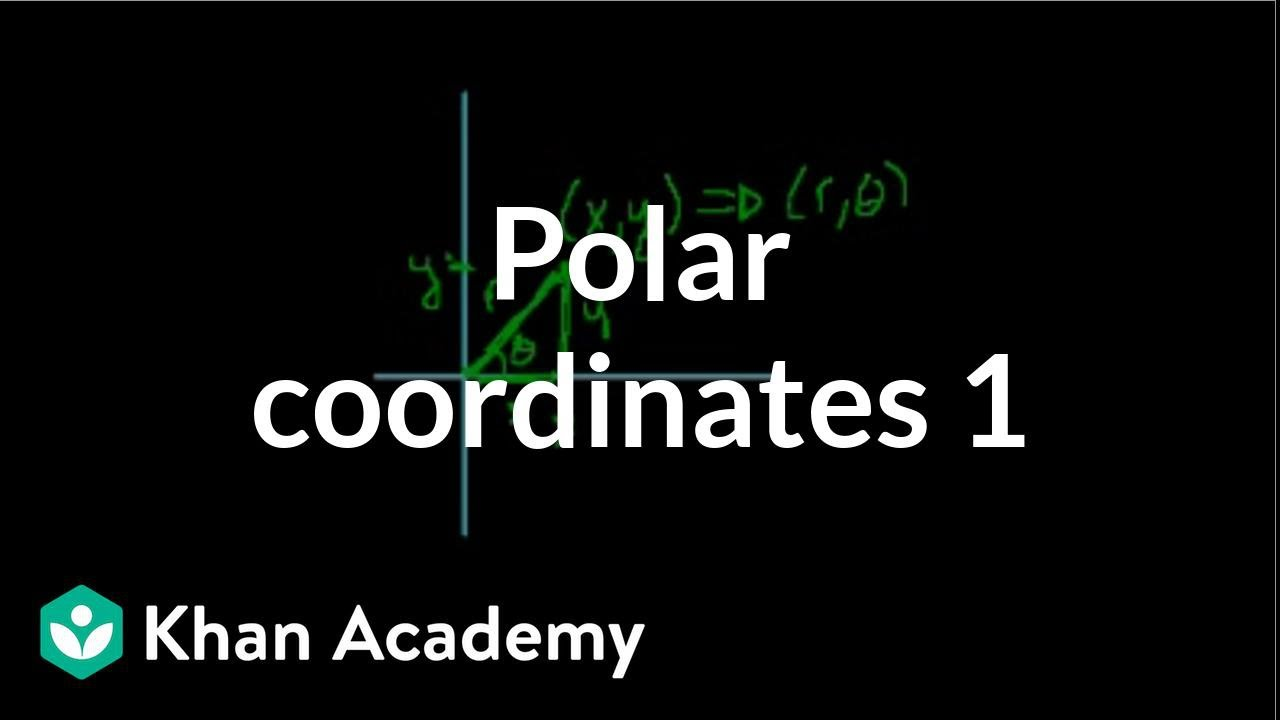 Polar coordinates | Parametric equations and polar coordinates