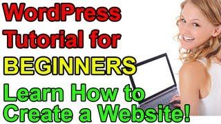 WordPress Tutorial for Beginners - Make a Website! thumbnail