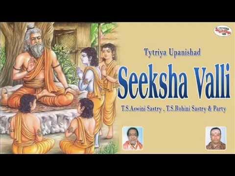 Tytriya Upanishad||Seeksha Valli