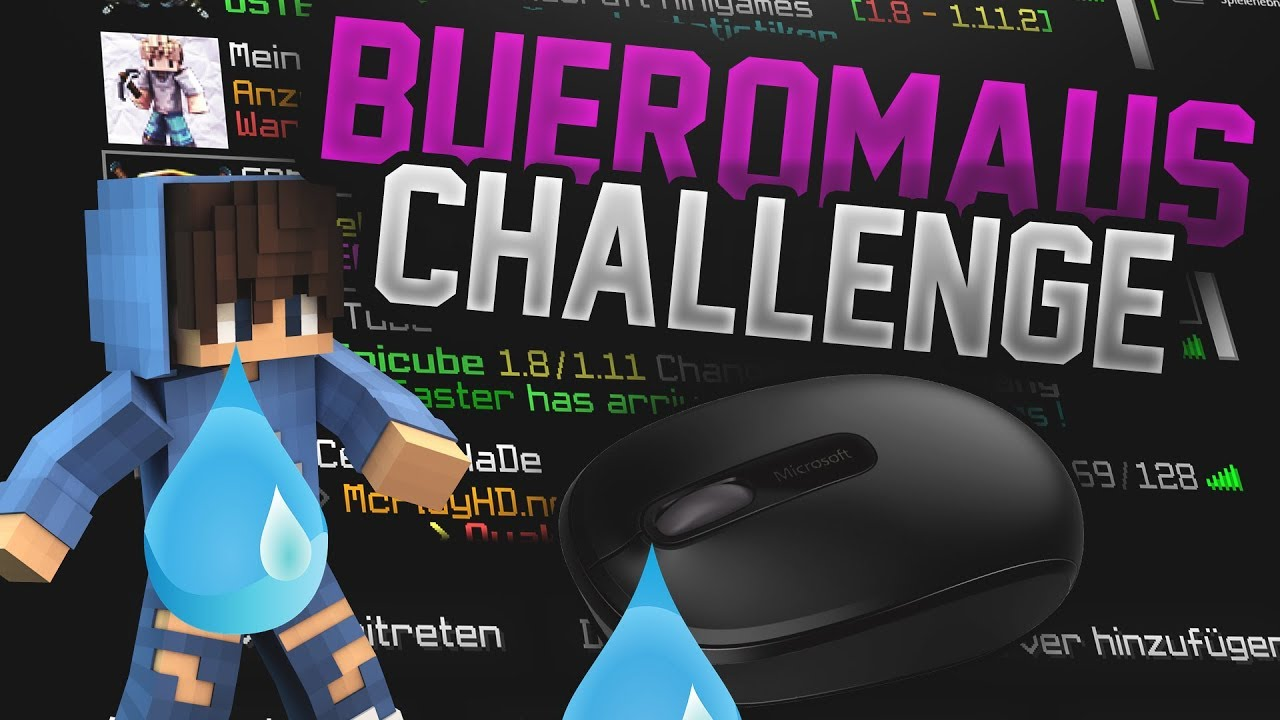 Buromaus Challenge Buromaus Vs Mouseabuser Youtube