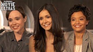 Flatliners   On-set visit with Ellen Page, Nina Dobrev & Kiersey Clemons