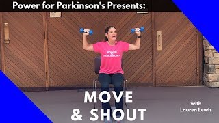 Power for Parkinson's Move & Shout: Full-Length At-Home Exercise Class