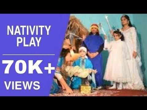 Nativity play | christian skit | Sunday school skit | birth of jesus christ in hindi | Amrita masih