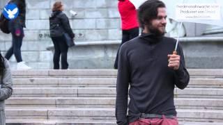 19. Friedensmahnwache in Wien: Kevin über seine Erfahrungen (1.9.2014)