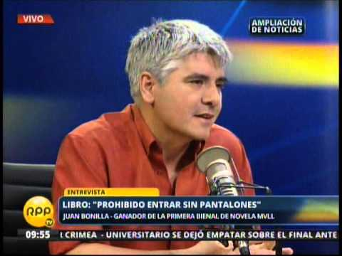 Entrevista a Juan Bonilla - Ganador Bienal MVLL