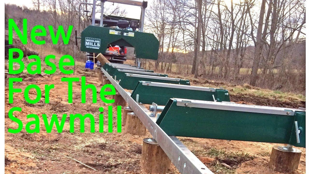 A New Base for the Sawmill - HM130 - Landis Legacy Farm