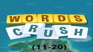 WORDS CRUSH LEVEL (11- 20) screenshot 4