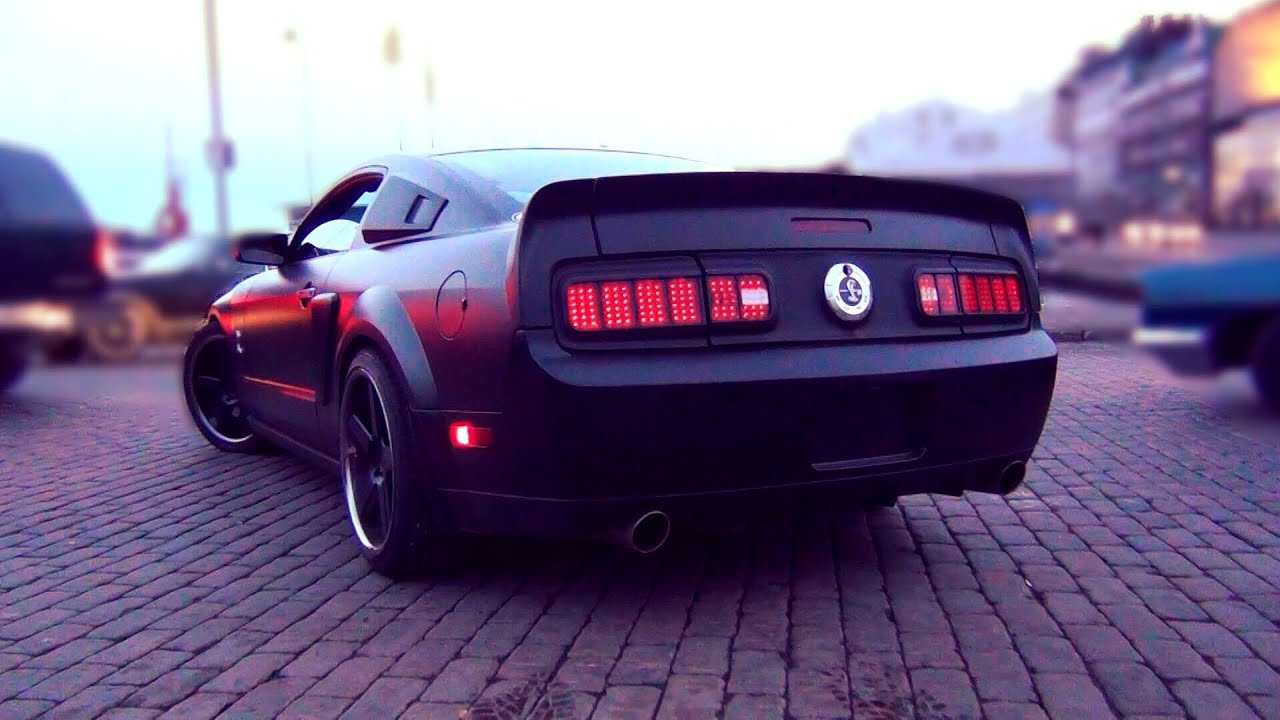 Custom shelby mustang gt500 v8 sound walkaround hard acceleration youtube