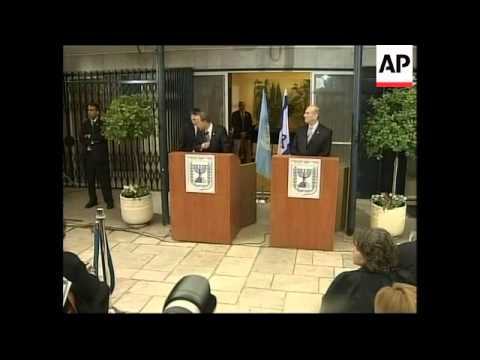 """Israeli PM Olmert meets Ban Ki-Moon, says he is in """"constant contact"""" with Abbas"""