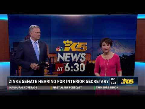 KING 5: Cantwell Demands Commitments from the Interior Secretary Nominee Ryan Zinke