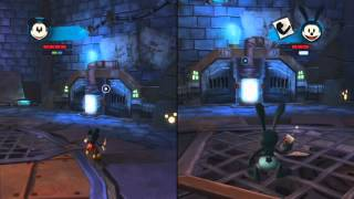 Epic Mickey 2 the Power of Two - DARK BEAUTY CASTLE - Part 2