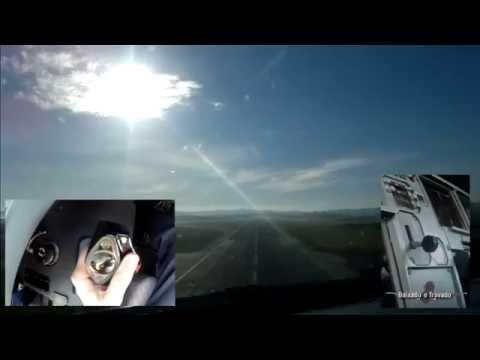 TAKEOFF - AIRBUS SIDE STICK & STEERING-WHEEL OPERATION (SBGR RWY09L)