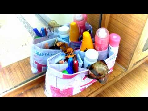 Home small things organization Ideas no cost | DIY daily used things like medicine toiletry cosmetic