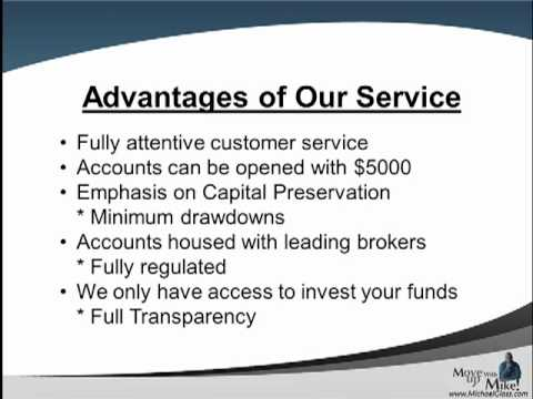 Forex managed accounts benefits
