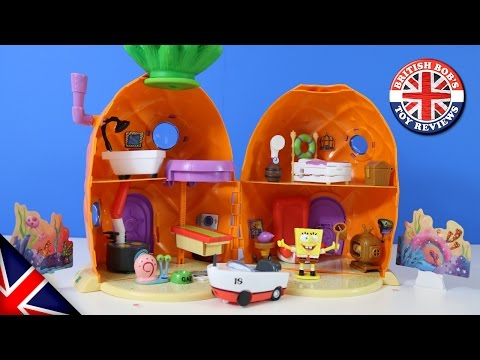 Spongebob Squarepants Pineapple House Playset | British Bobs Toy Reviews | Unboxing Simba Toys