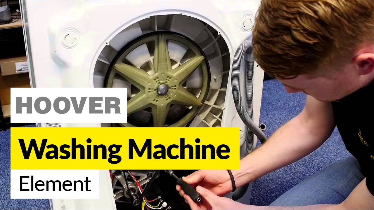 How To Replace A Washing Machine Heater Candy Or Hoover Youtube Dryer Wiring Diagram
