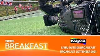 Young Tennis Players Cheer On Emma Raducanu - BBC Breakfast