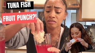 Adrienne's Weird Food Combination TESTED!!! Is it Good?!