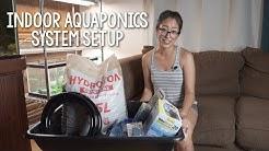 DIY Indoor Aquaponics System Setup