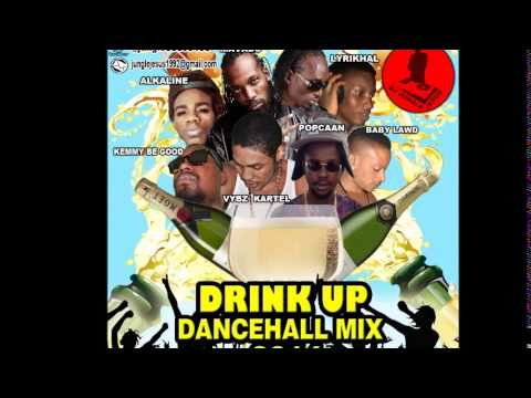 ♫Drink Up Dancehall Mix (Clean) Vybz Kartel║Alkaline║Kemmy Be Good║Mavado 2014@Dj Jungle Jesus