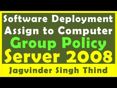Group Policy Software Deployment - Video 24