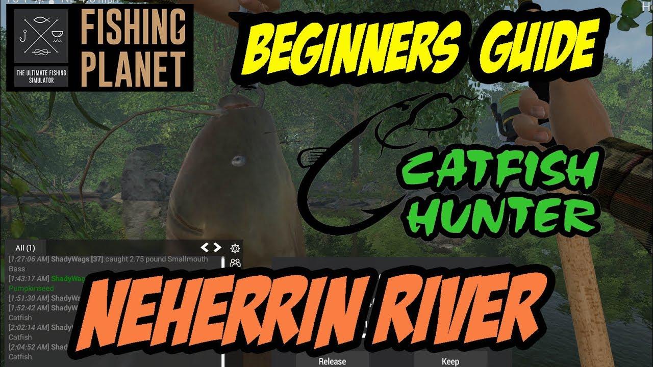 Fishing Planet - Neherrin River - Flathead Catfish, Gar ...