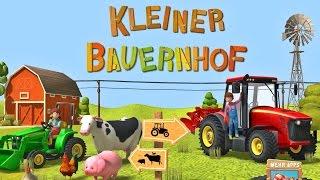 Kleiner Bauernhof Traktor, Mähdrescher & Tiere - App für Kinder