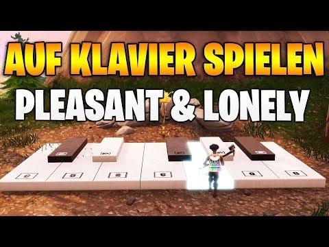 Fortnite: Spiele auf den Klavieren Pleasant & Lonely - Alle Orte Season 7 Woche 2