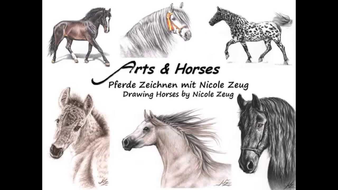 Pferde Zeichnen mit Nicole Zeug - Drawing Horses by Nicole Zeug ...