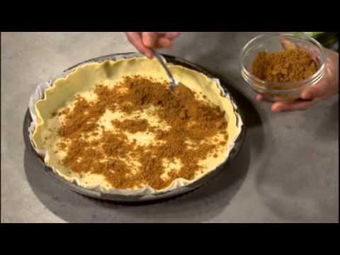 tarte-au-fromage,-à-l'ananas-et-au-spéculoos