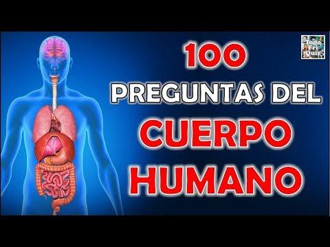 """100 Preguntas Del """"CUERPO HUMANO"""" Test/Trivial/Quiz"""