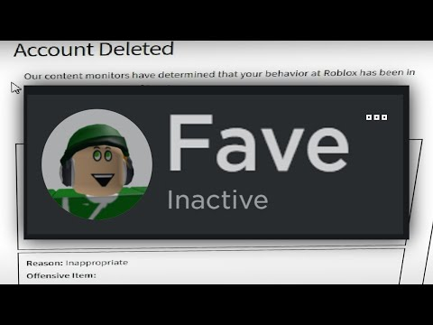 Why Fave can't get UNBANNED... (Roblox)