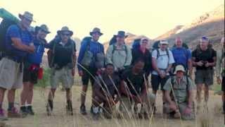 Climbing Brandberg, Namibia 2012