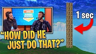 Streamers REACT to FASTEST Builder in Fortnite! | Fortnite Best Moments #88