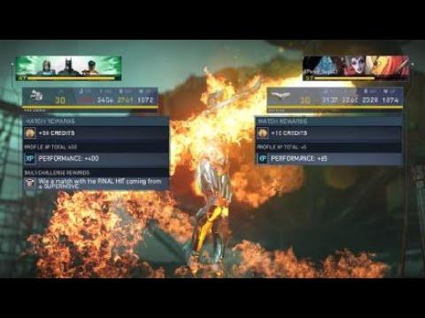 Injustice 2: Legendary Edition Firestorm vs Reverse Flash |